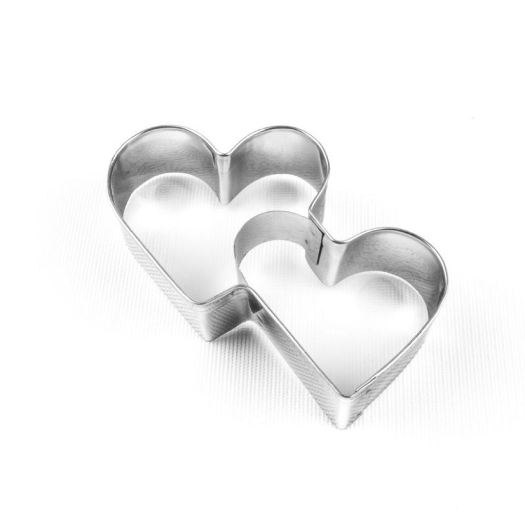 Çift Kalp Kurabiye Kalıbı
